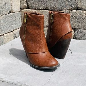 Fergalicious by Fergie Wedge Ankle Bootie